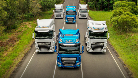 DAF XF y CF reciben el premio Good Design Award