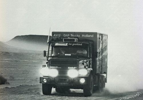 Asturtruck historia de DAF